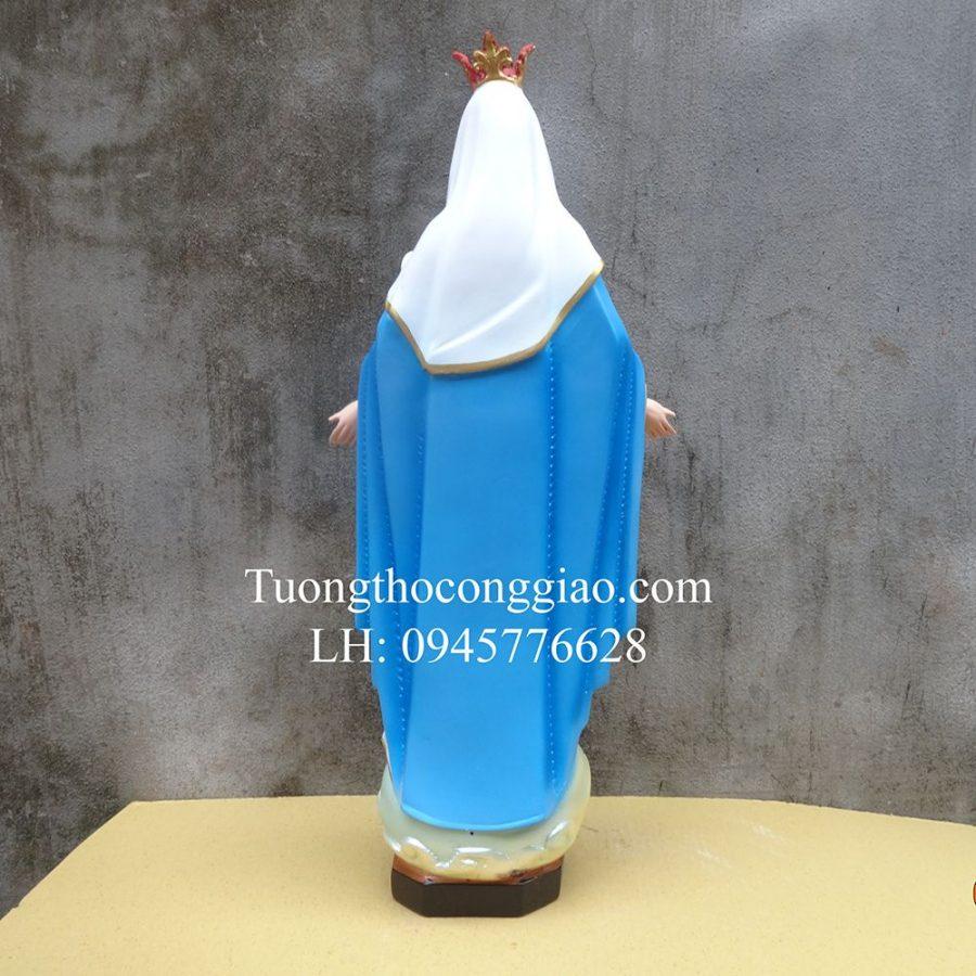 Tượng Đức Mẹ Ban Ơn 55cm composite