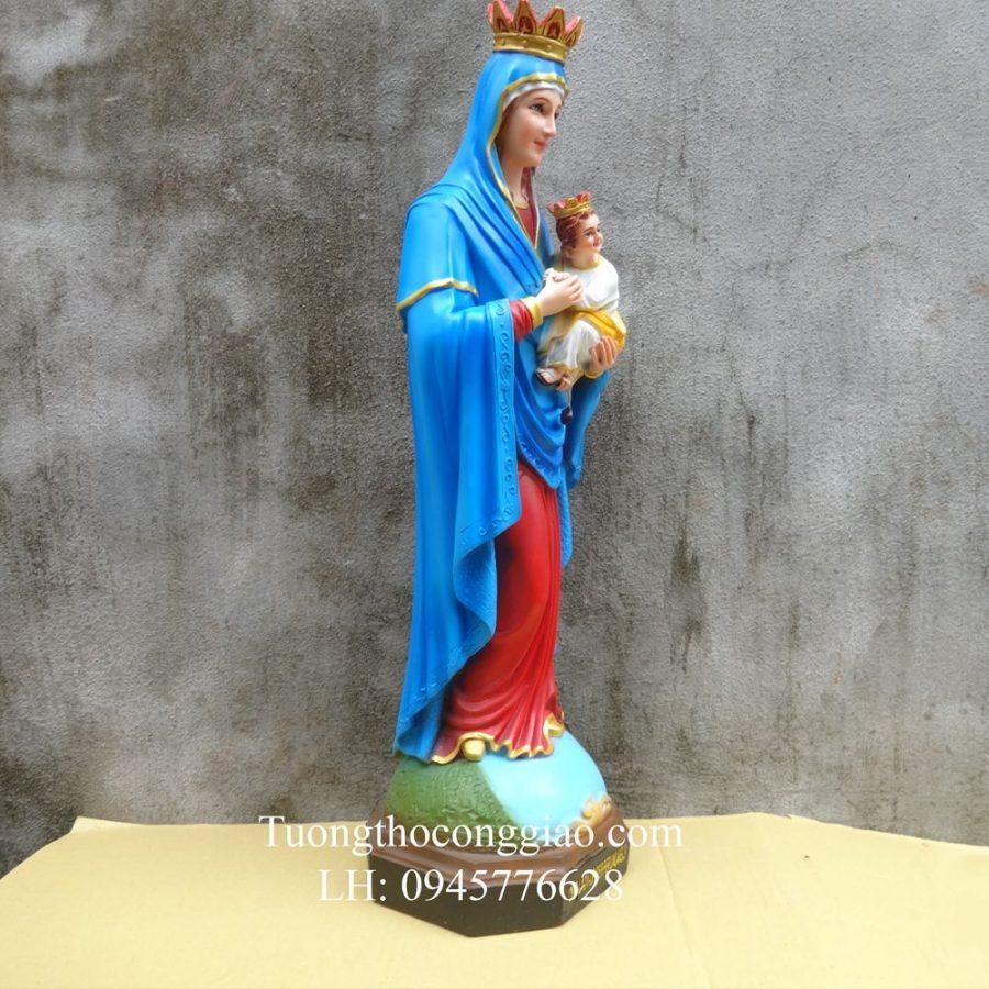 Tượng Đức Mẹ Hẳng Cứu Giúp 50cm composite