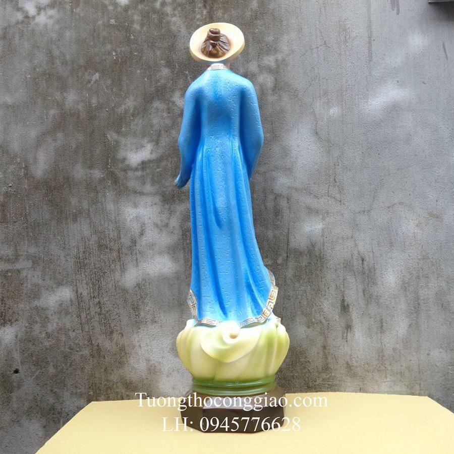 Tượng Đức Mẹ La Vang Việt Nam 80cm Composite