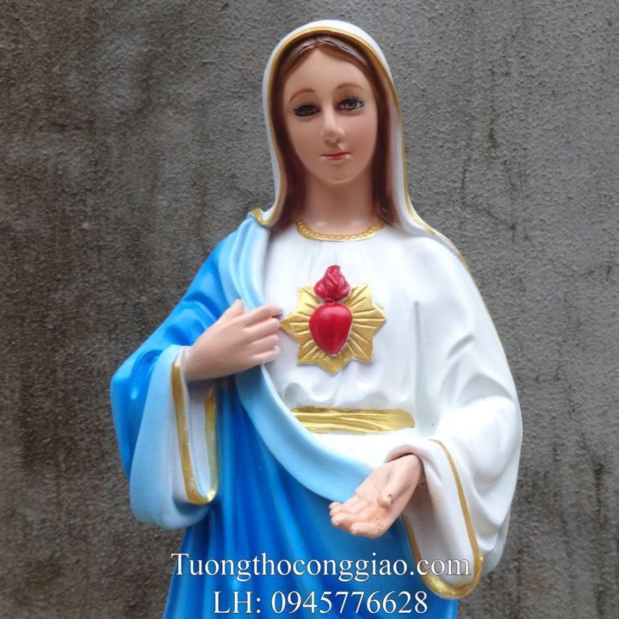 Tượng Đức Mẹ Trái Tim 50cm