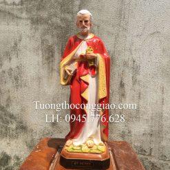 Tượng Thánh Phêrô 40cm composite