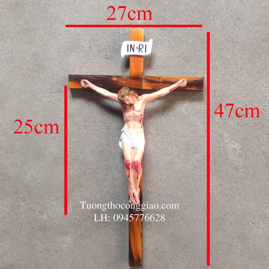 Tượng chịu nạn 25 cm