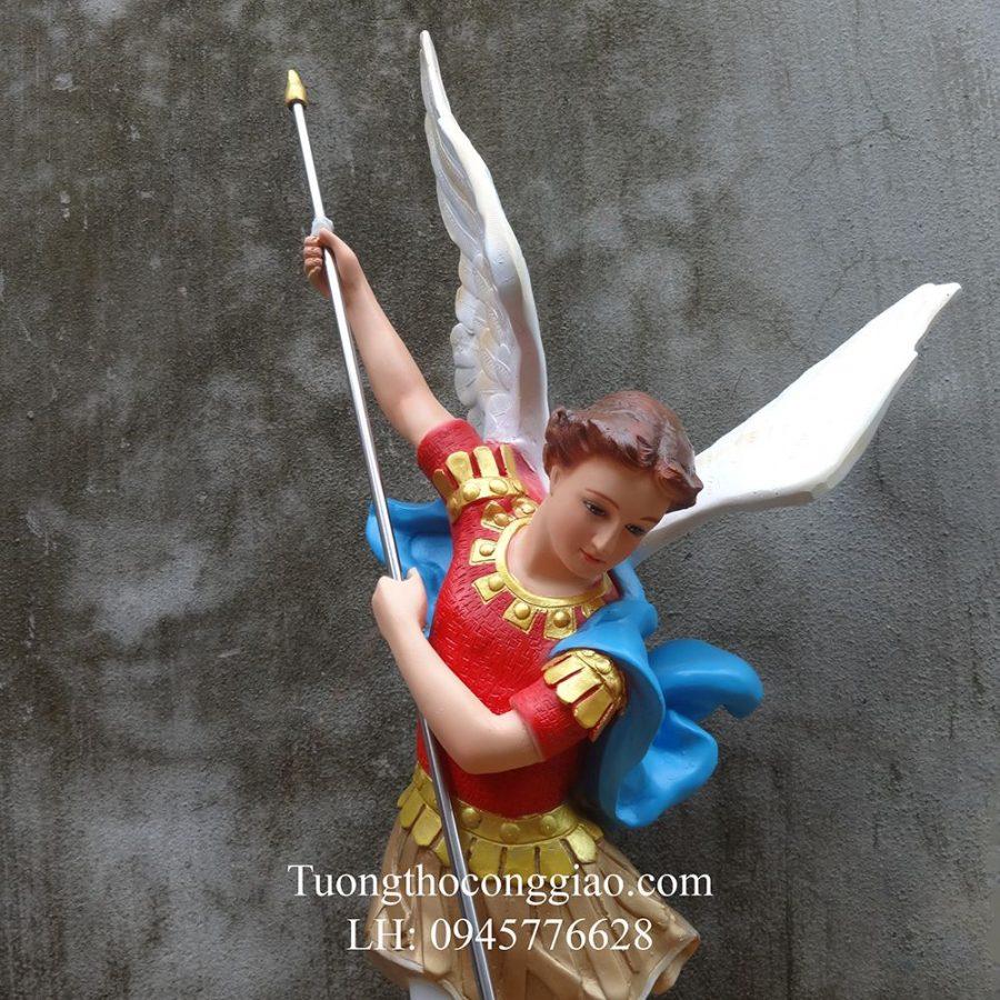 tượng Thiên Thần Micae 80cm composite
