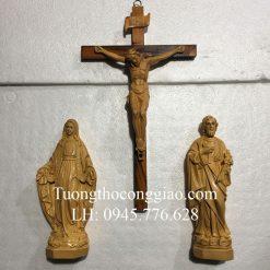 Bộ tượng Bàn Thờ Công Giáo giả gỗ 30