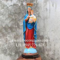 Tượng Đức Mẹ Hằng Cứu Giúp 80cm composite