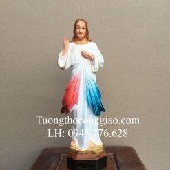 Tượng Lòng Thương Xót Chúa 40cm