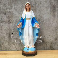 Tượng Đức Mẹ Ban Ơn đẹp 45cm 1