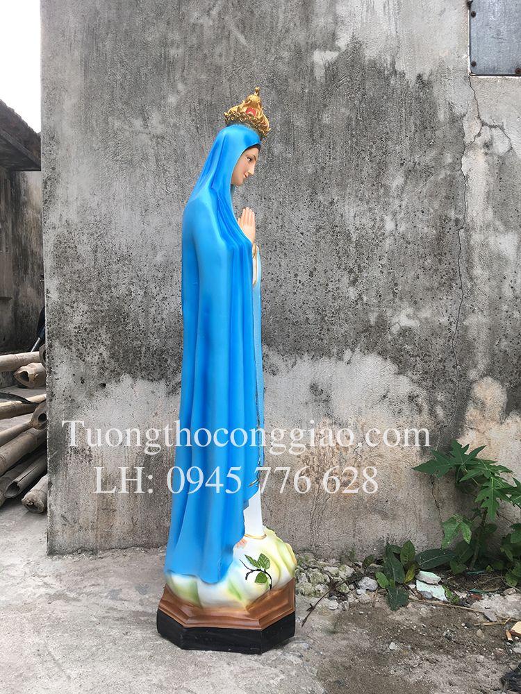 Tượng Đức Mẹ Fatima 1m composite 1