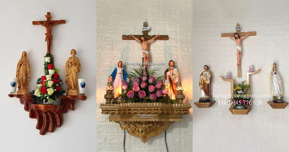 Những kiểu bàn thờ Chúa đẹp cho bà con giáo dân 1
