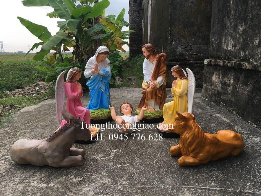 Bộ tượng CHúa Giáng Sinh 70cm 7 tượng 2