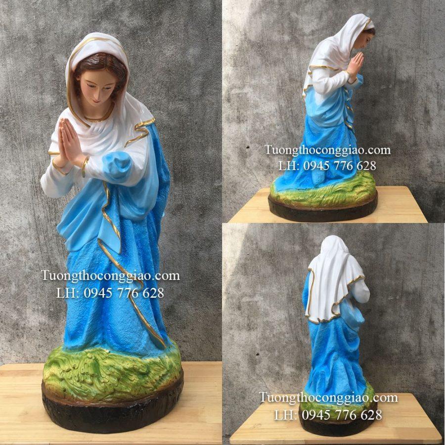 Tượng Đức Mẹ (Bộ tượng CHúa Giáng Sinh 70cm 7 tượng)