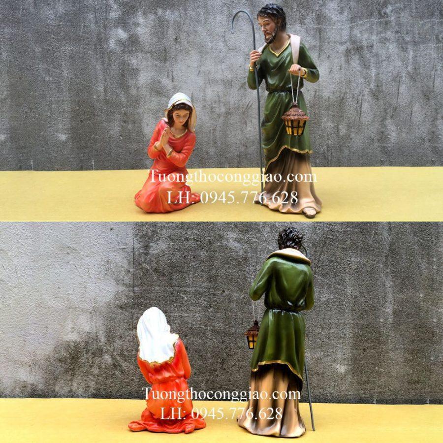 Bộ tượng Giáng Sinh Noel mẫu Ý 30cm 10 tượng 6
