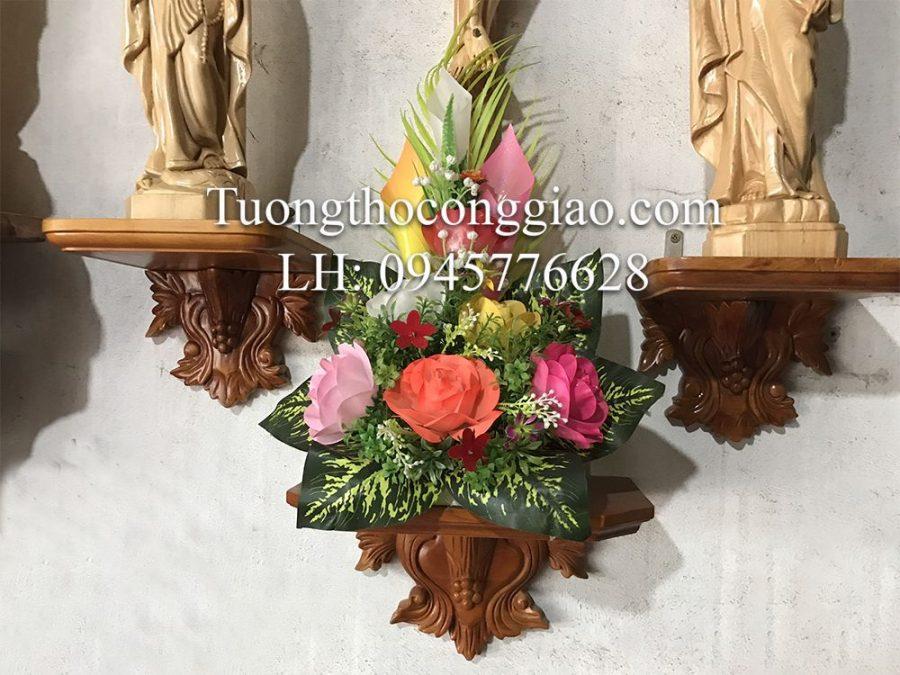 bàn thờ thiên chúa bằng gỗ 3